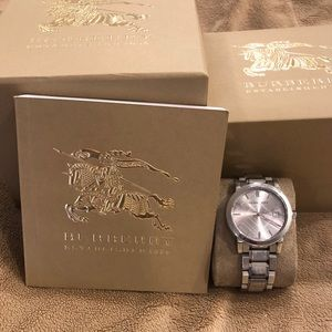 Burberry Stainless Steel men's watch 8 inches